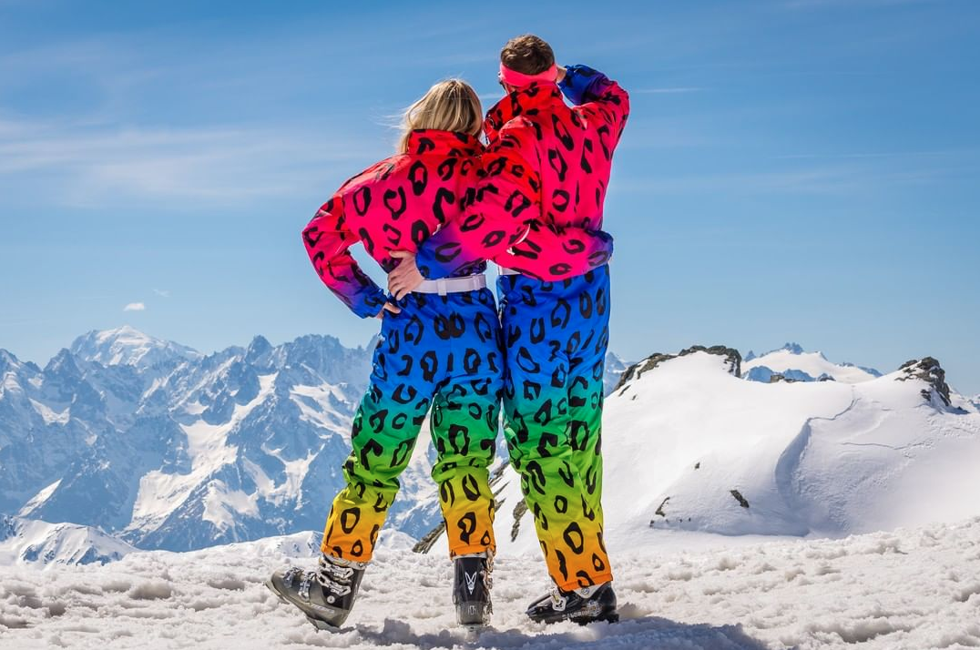All In One Ski Suit - Watermelon - OOSC Clothing   One