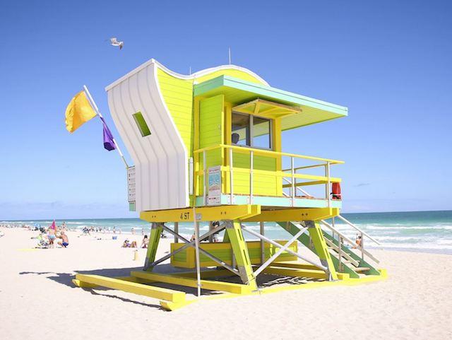 miami lifeguard hut