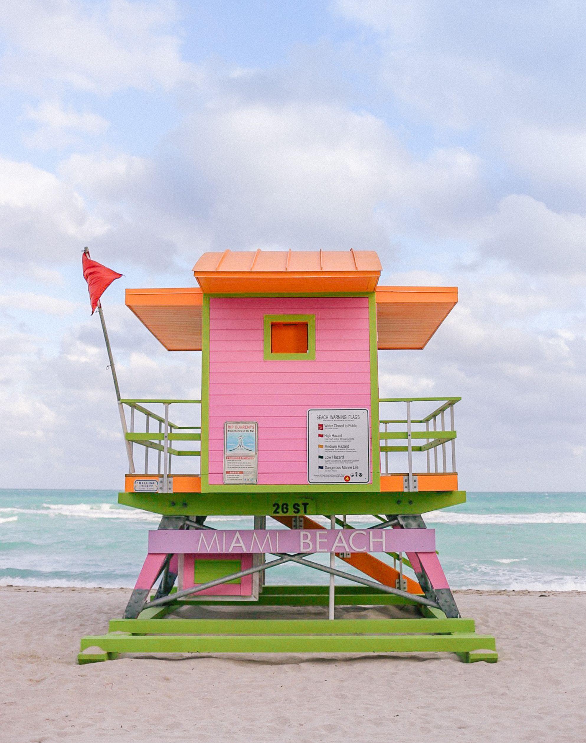 miami beach huts