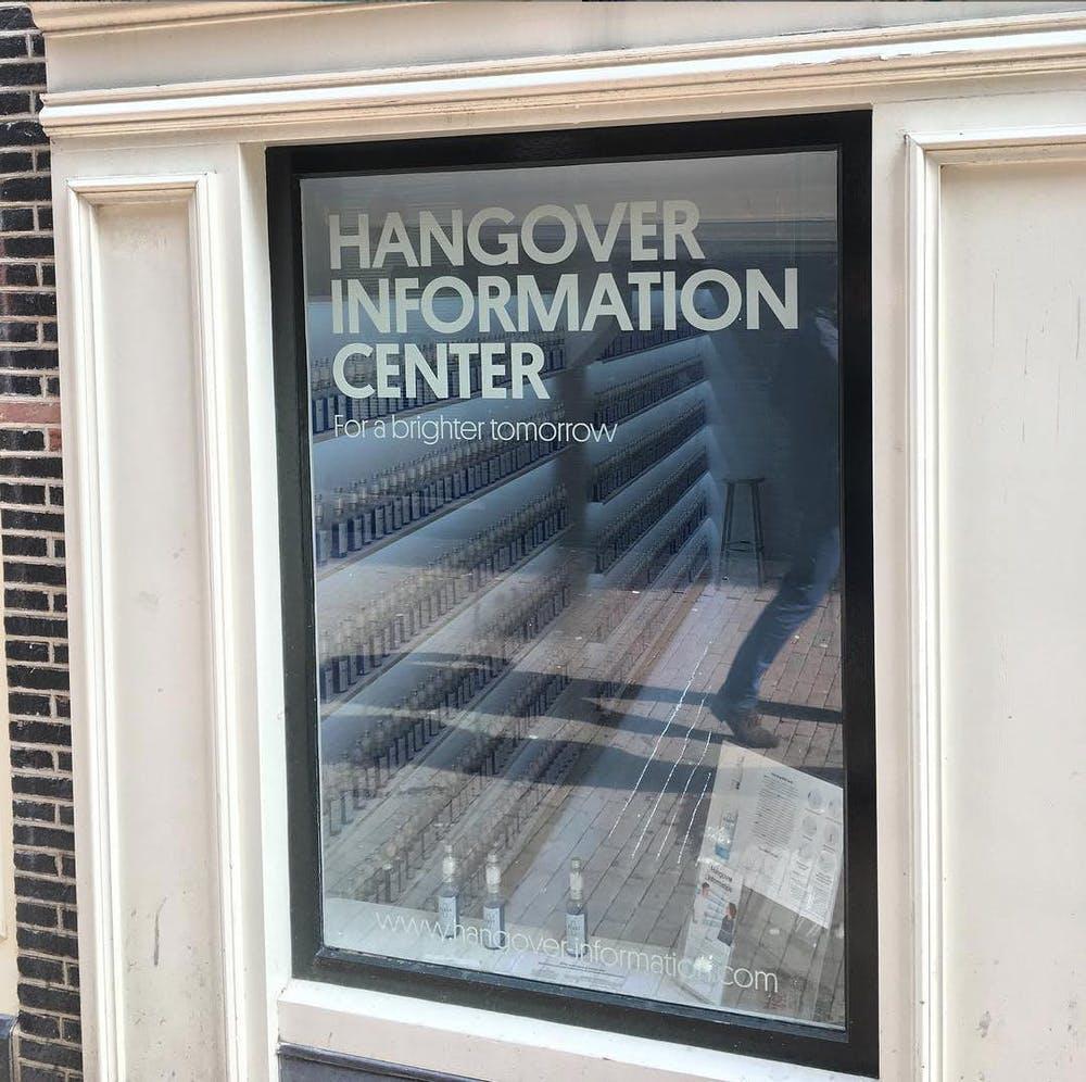 hangover information centre