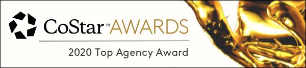 CoStar awards Top Agency Award 2020