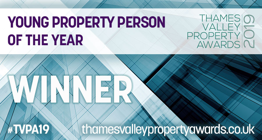 Young property person of the year winner