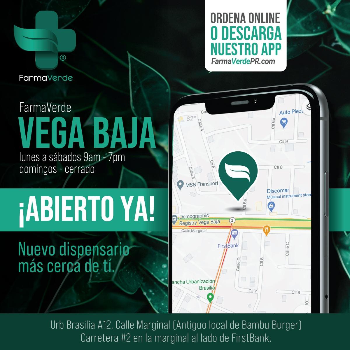 Vega Baja está abierto