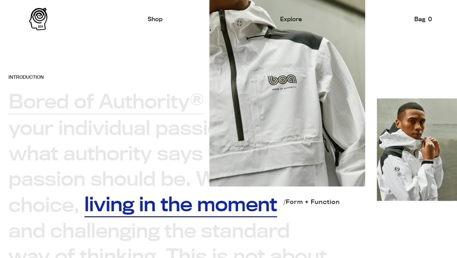 Bored of Authority - Victor Costa