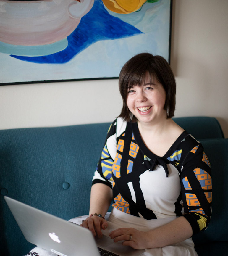 Jessica Brown is a Graphic & Web Designer from Hamilton, ON.