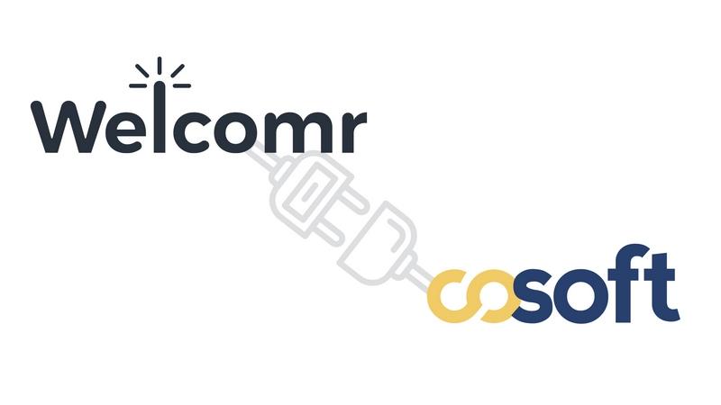 Partenariat Cosoft et Welcomr sur une solution unique intégrant gestion d'espace de travail et contrôle d'accès