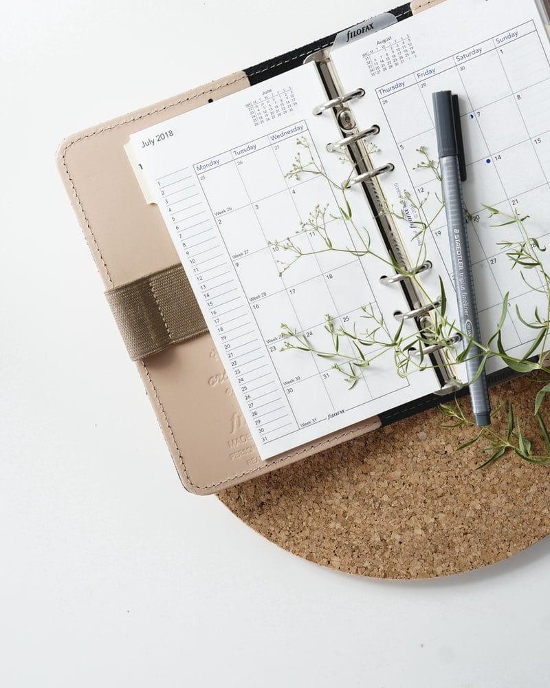 Les agendas dématérialisés ou en SaaS remplace les agendas papier