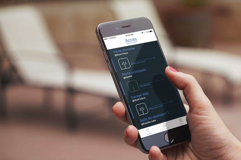 Ouvrir une porte avec son smartphone et l'app Welcomr