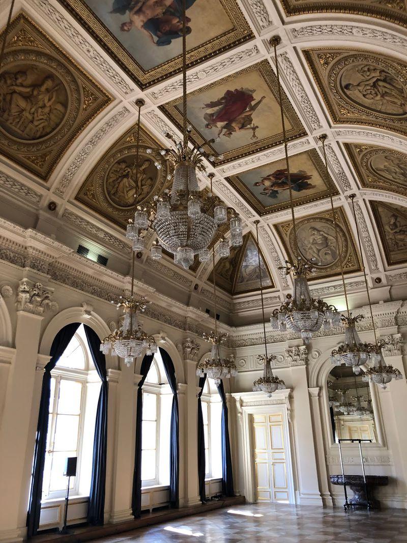 Le Palais Brongnart à Paris, lieu de l'événement Atos