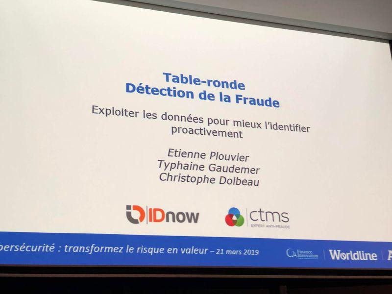 table ronde détection de la fraude Atos