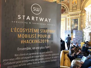 Starway au Hacking de l'hôtel de ville 2019
