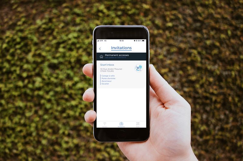 Application Welcomr de gestion des accès à distance
