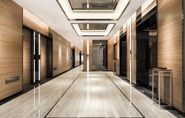 couloir de bureaux