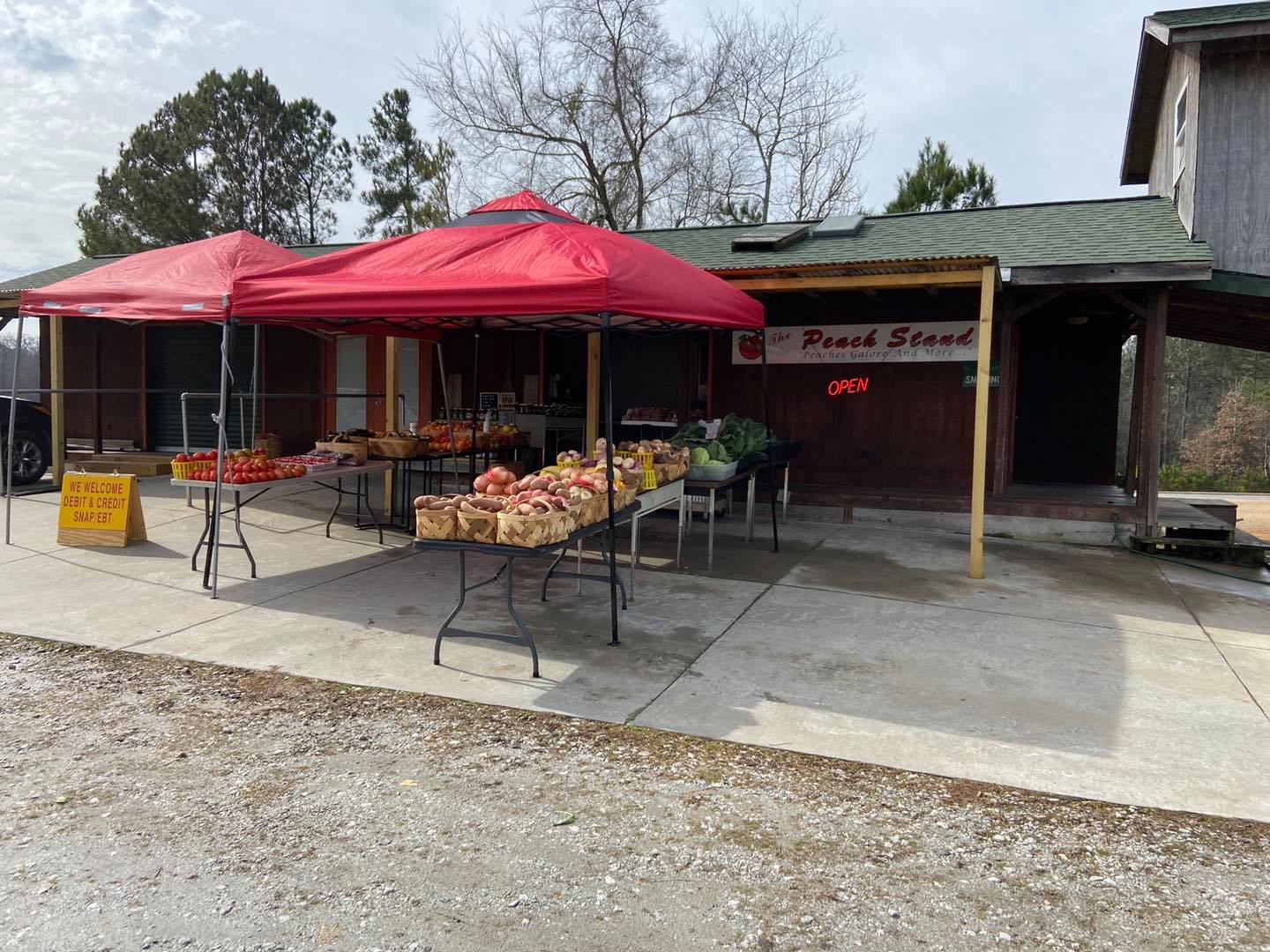 The Peach Stand (Greenwood, SC)
