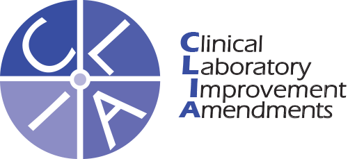 Clinical Laboratory Improvements Amendments (CLIA) logo