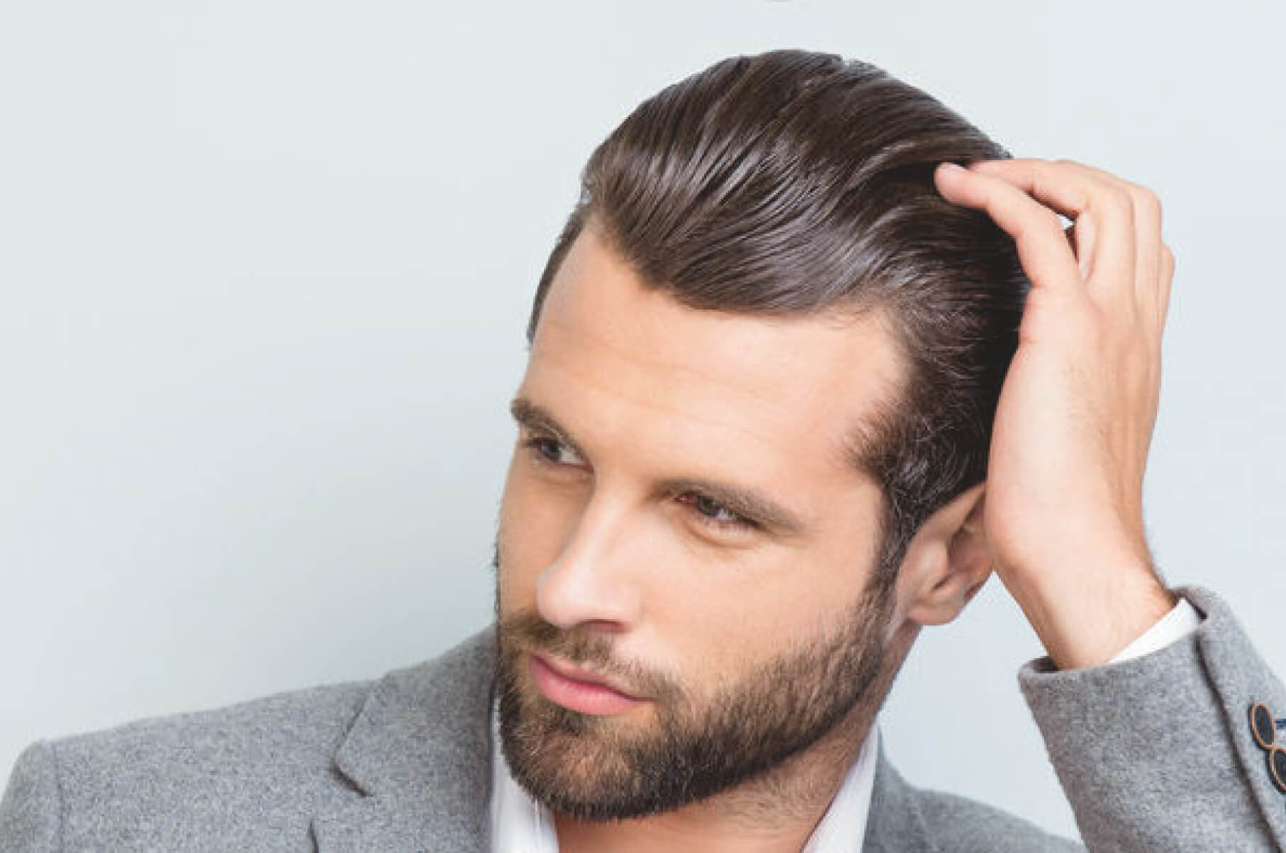 male skincare and hair treatments