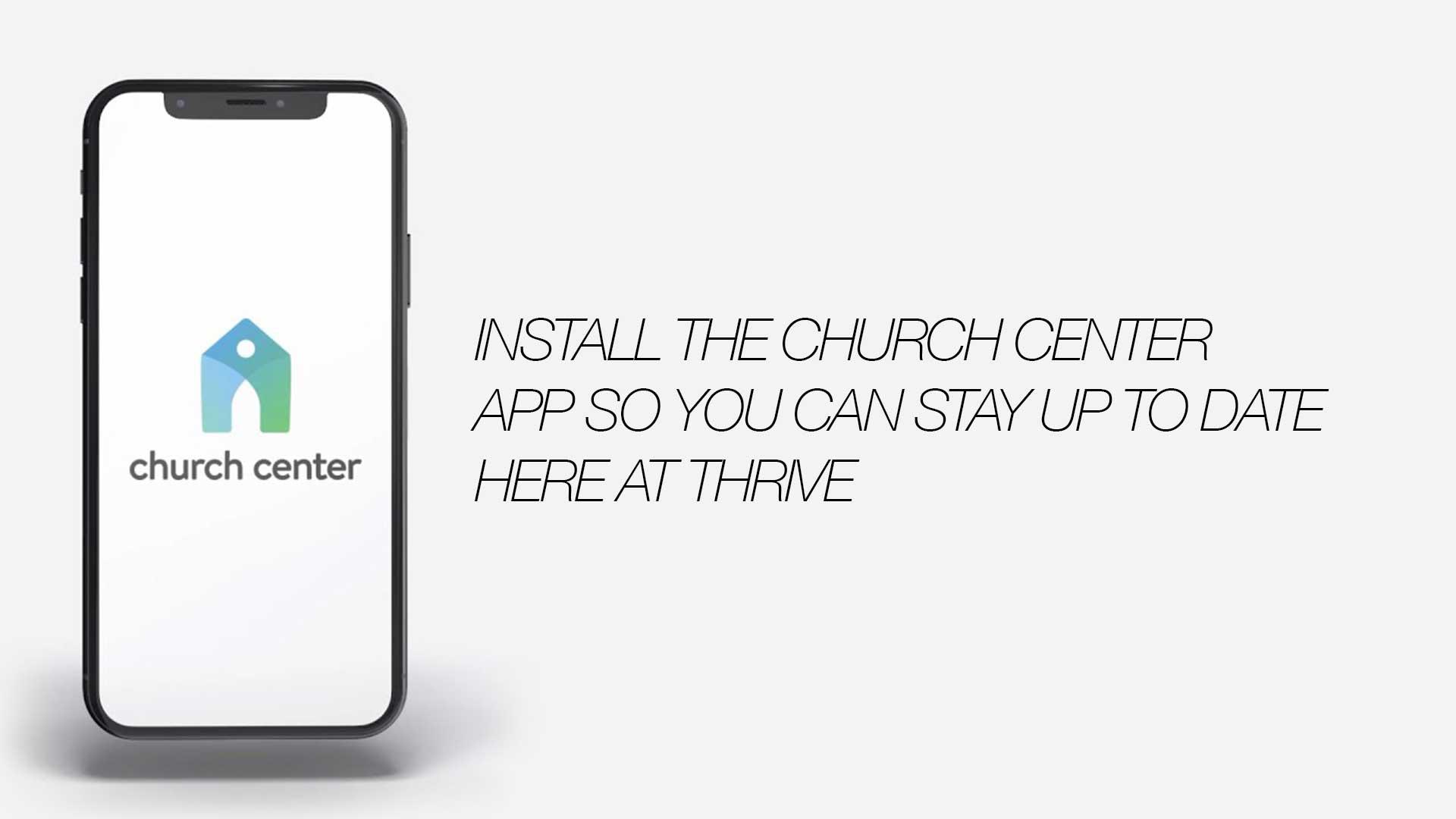 Install the Church App