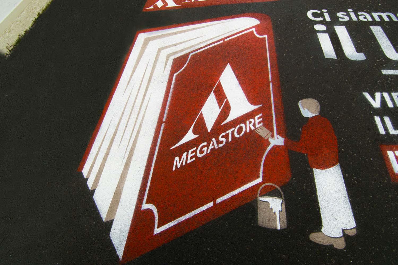 street advertising mondadori