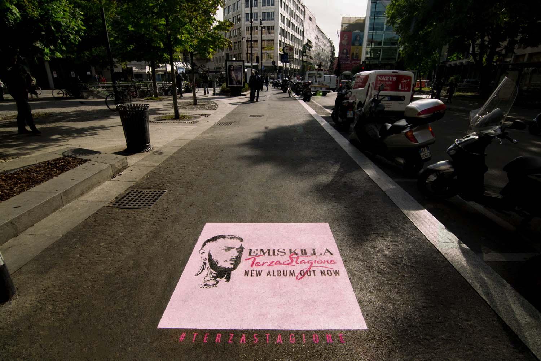 graffiti pubblicità carosello records emis killa