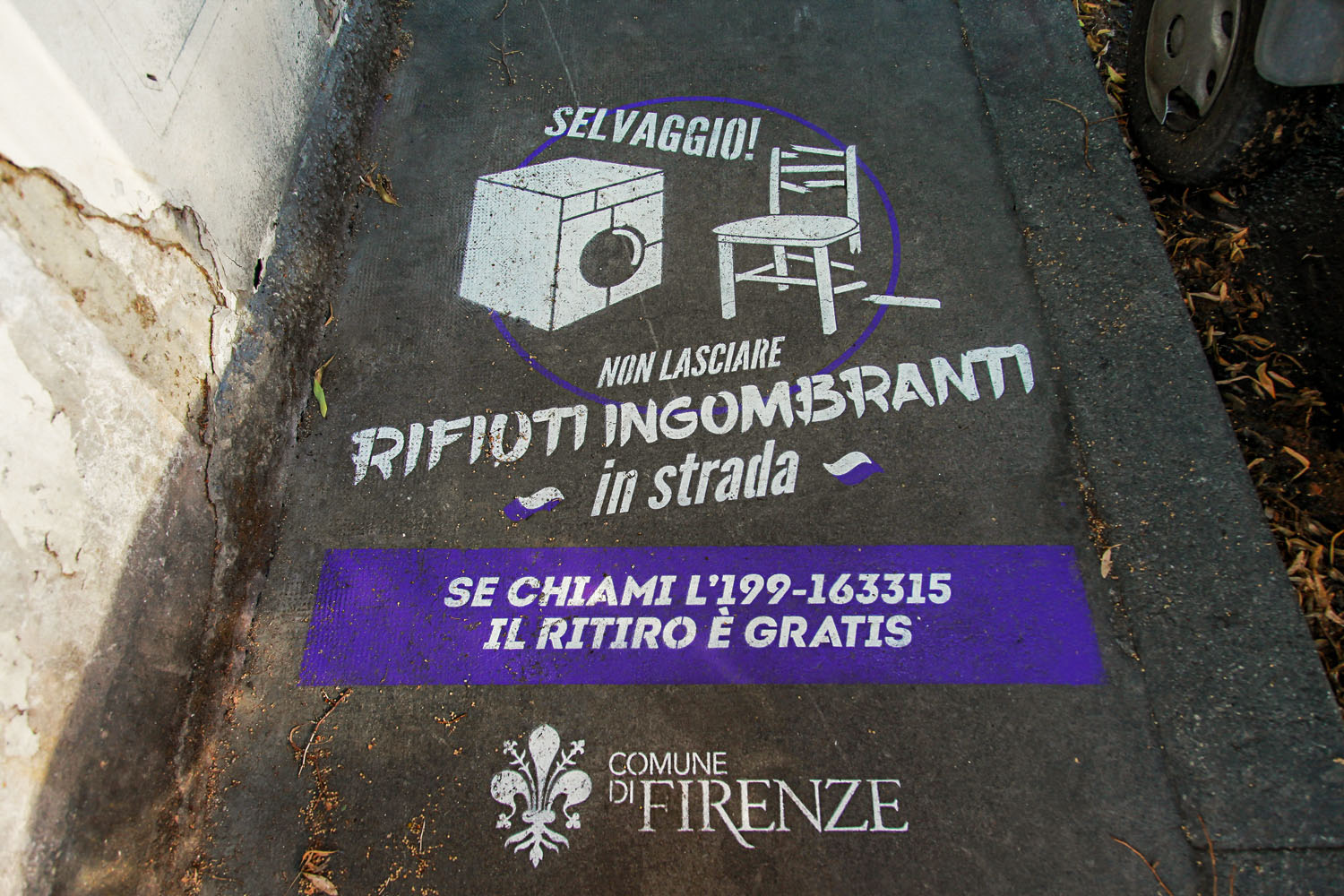ambient marketing comune di firenze