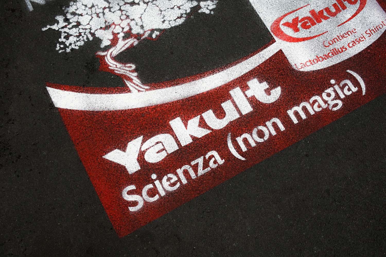 campagna pubblicitaria yakult