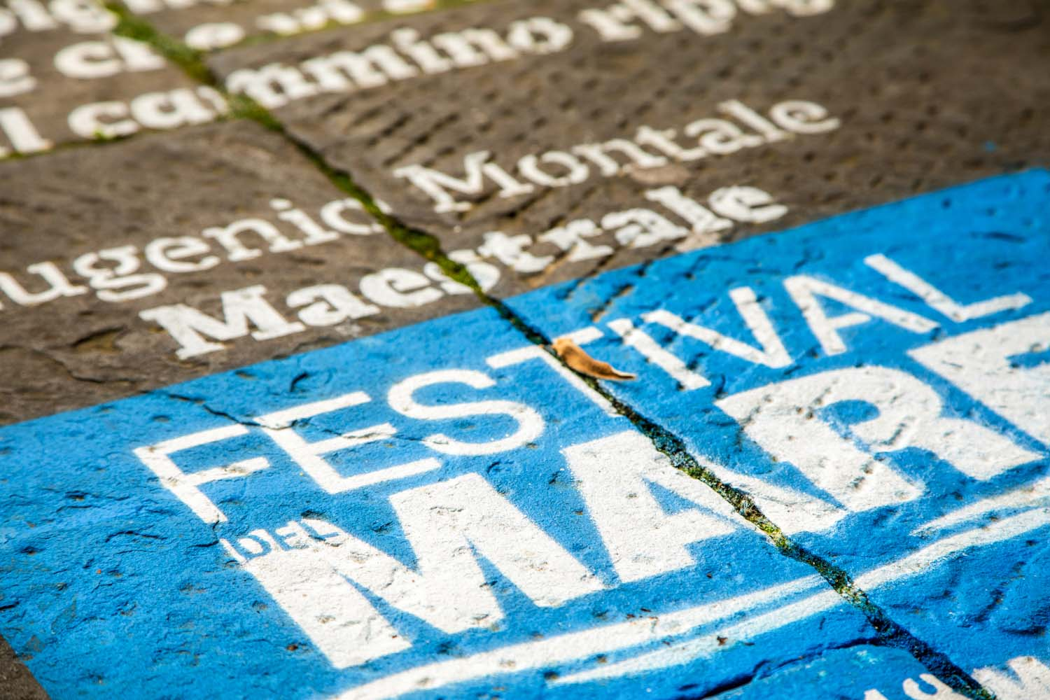 floor advertising festival del mare