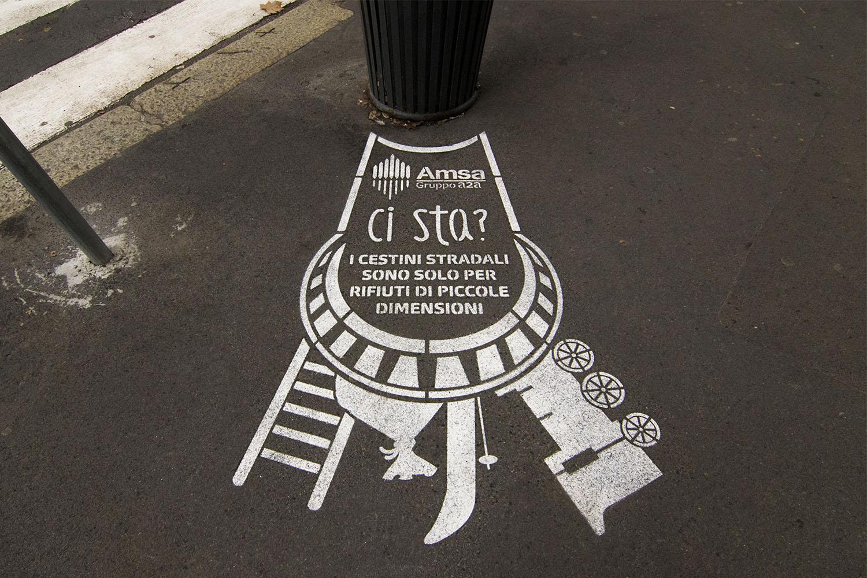 graffiti pubblicitari amsa milano