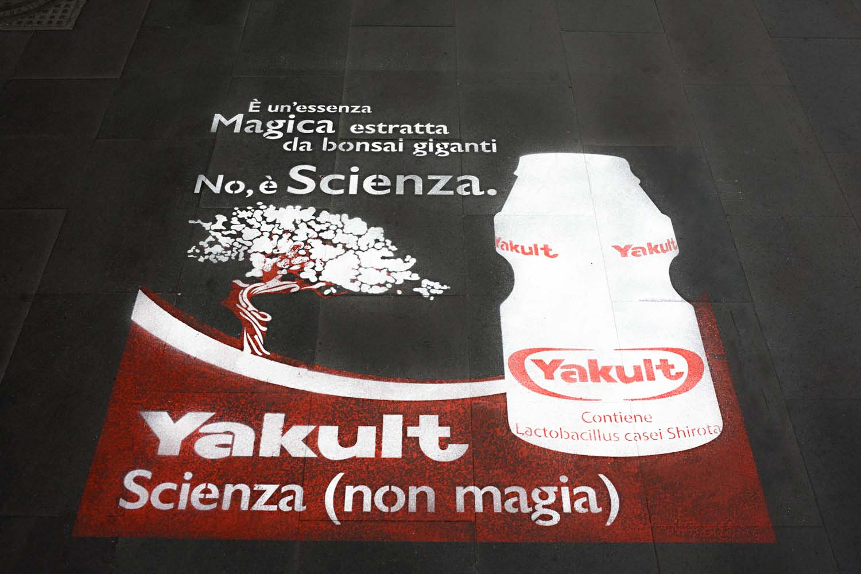 street marketing yakult