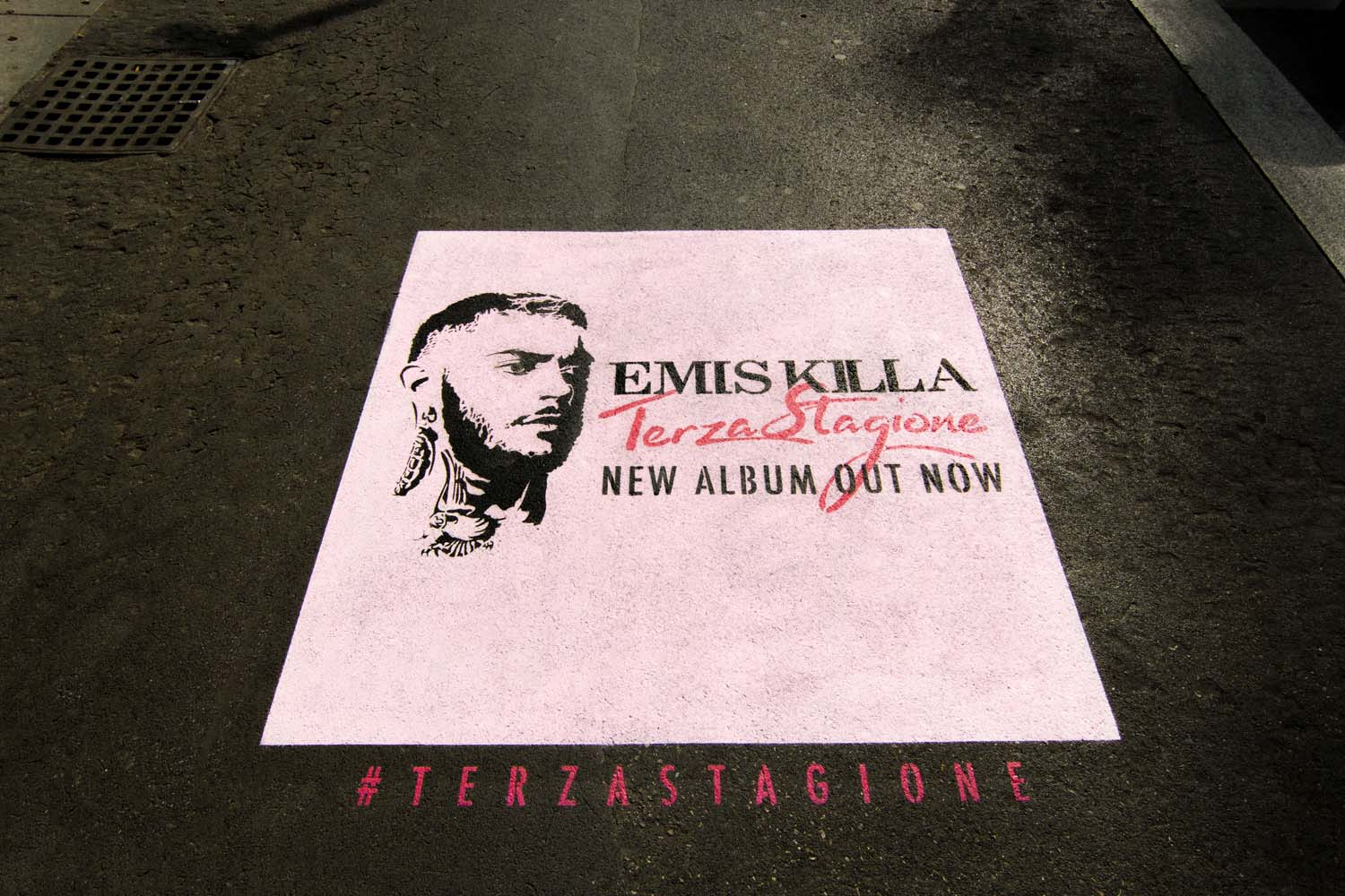 graffiti marketing carosello records emis killa