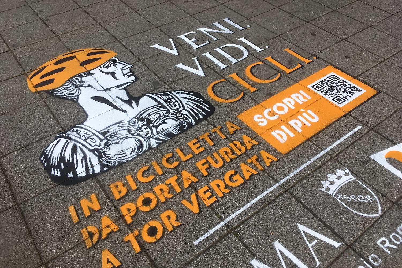 green graffiti comune di roma municipio vii