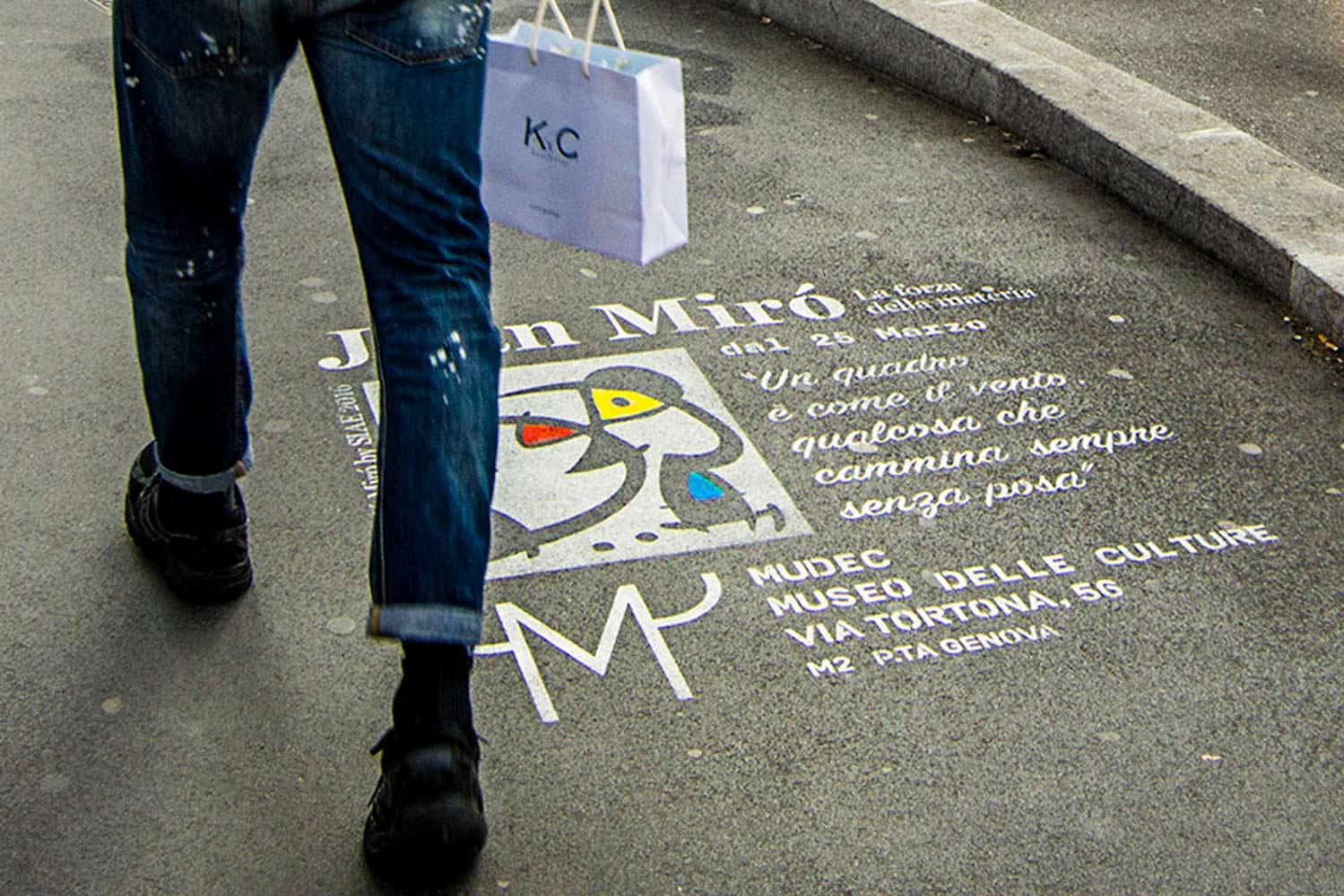 graffiti pubblicitari joan mirò mudec