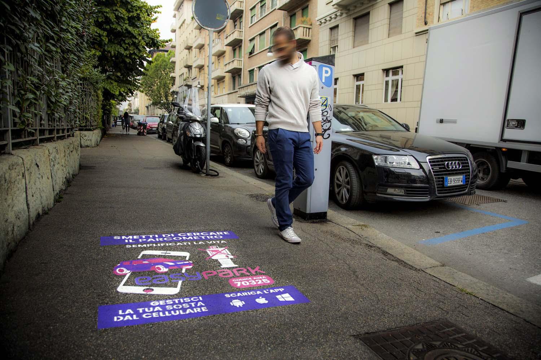 campagna pubblicitaria easypark