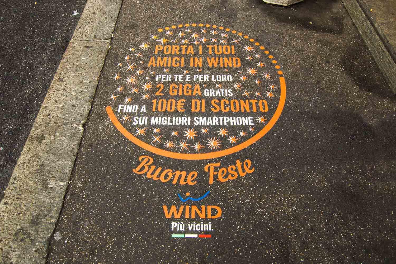 campagna pubblicitaria wind