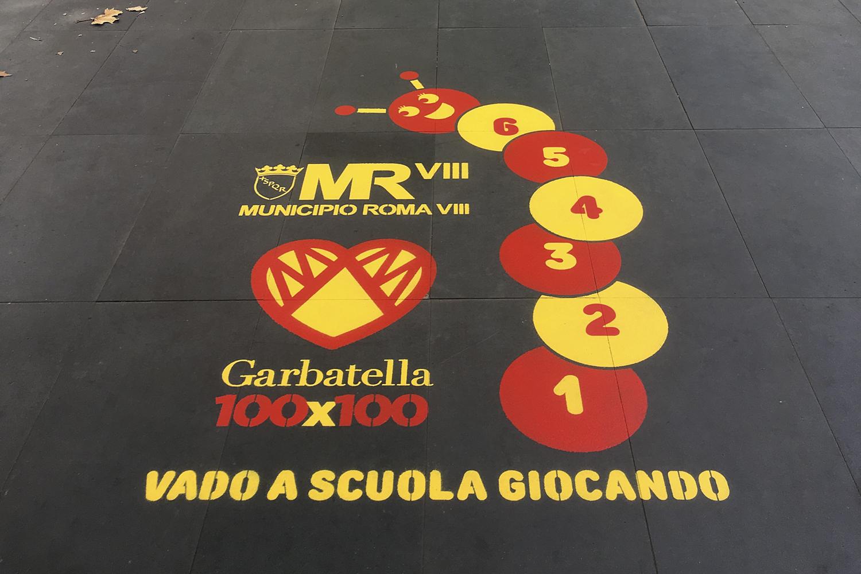 campagna pubblicitaria comune di roma municipio viii