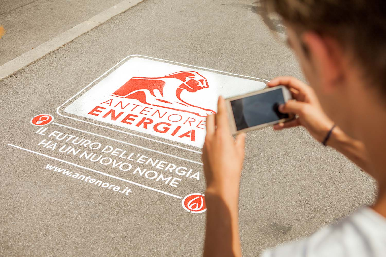 street marketing antenore energia