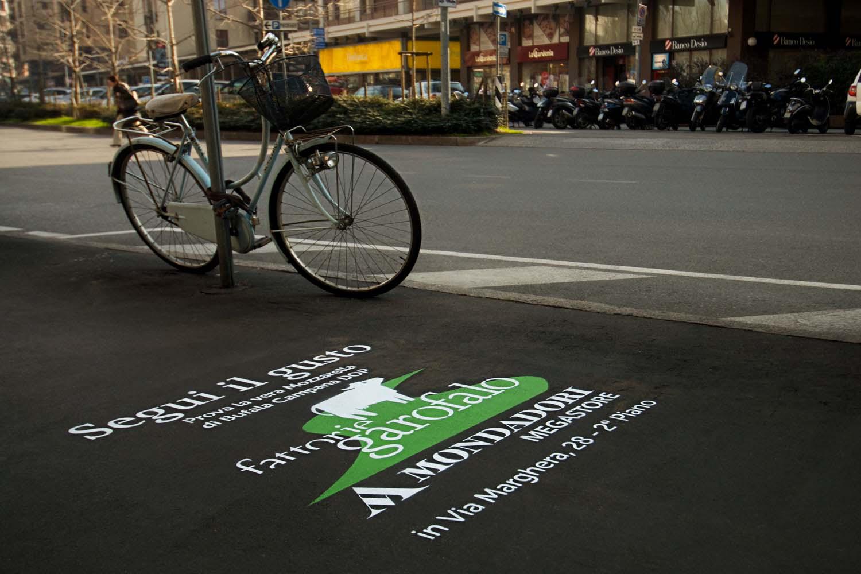 street marketing fattorie garofalo