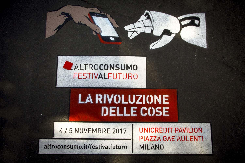 graffiti pubblicitari festival futuro