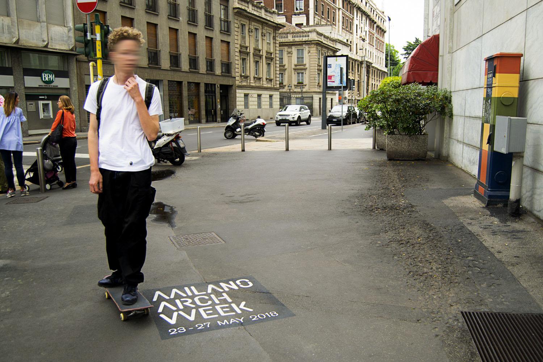 campagna pubblicitaria comune di milano arch week