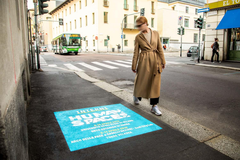 pubblicità stradale interni