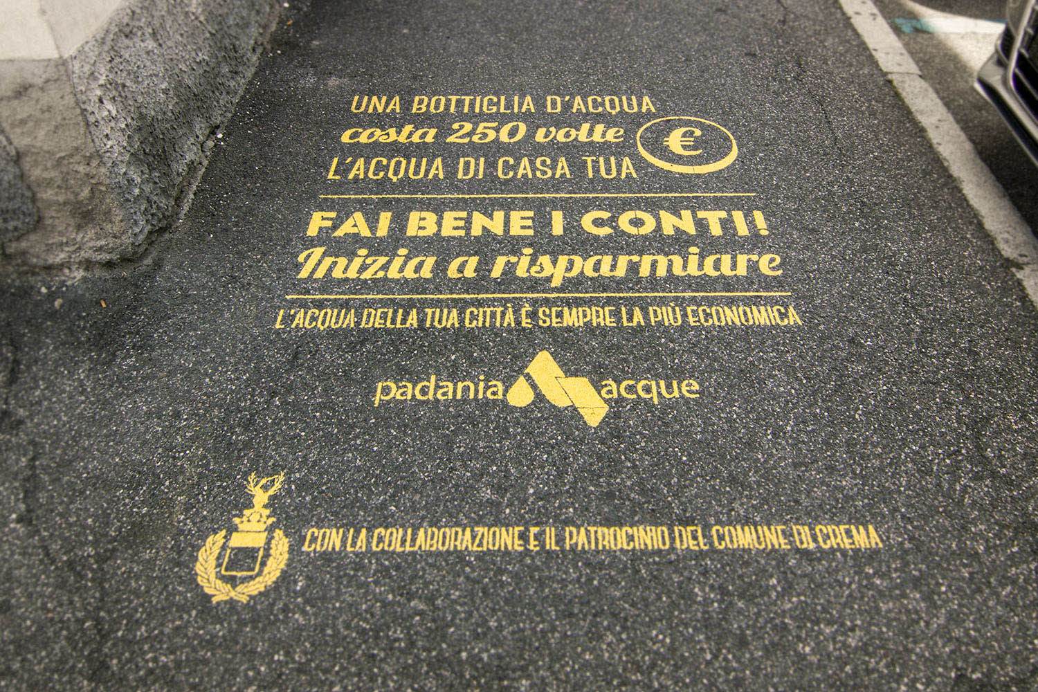 street marketing crema cremona