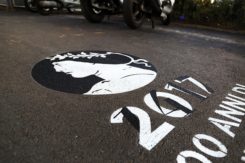 graffiti pubblicitari comune di rimini