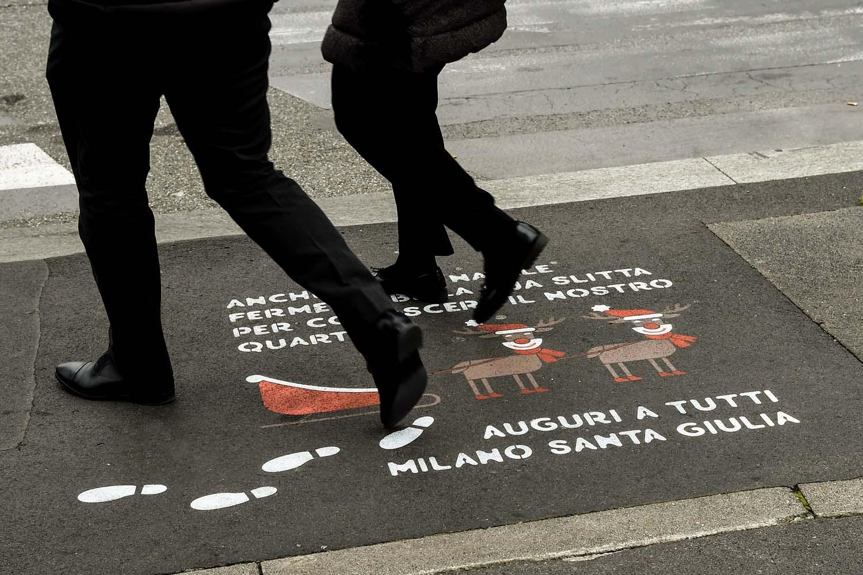 graffiti pubblicitari risanamento santa giulia