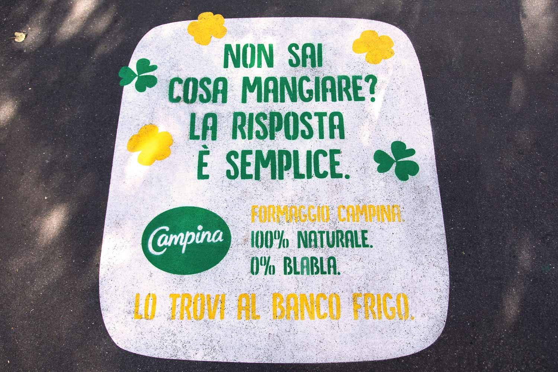 street advertising campina