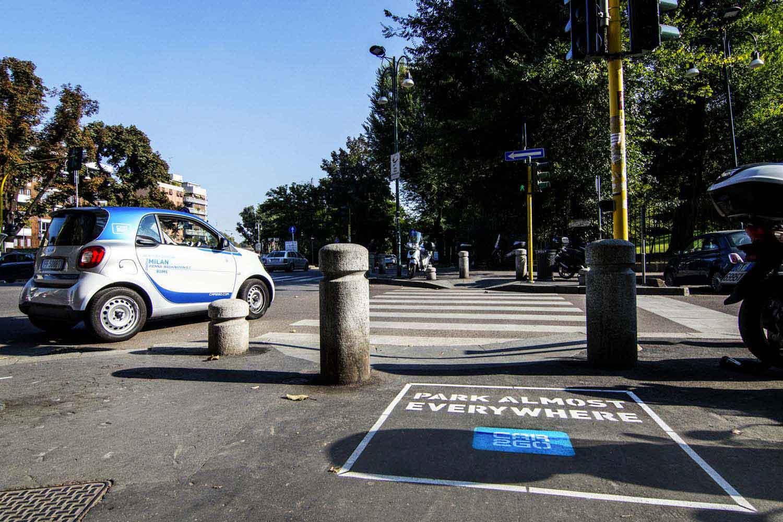 campagna pubblicitaria car2go