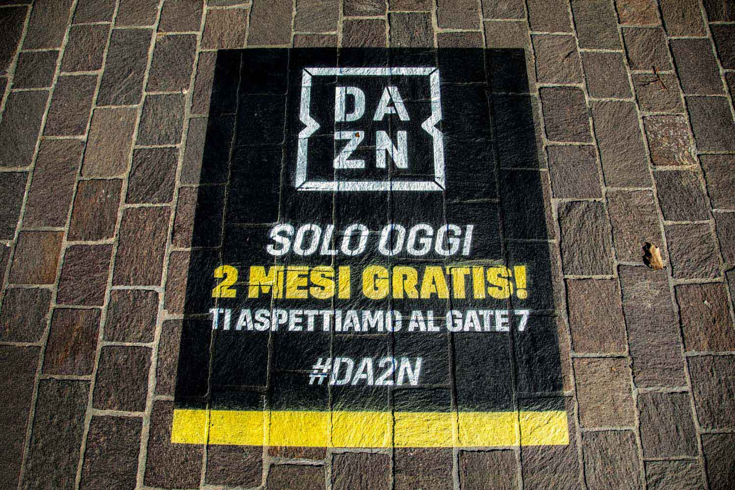 outdoor advertising dazn