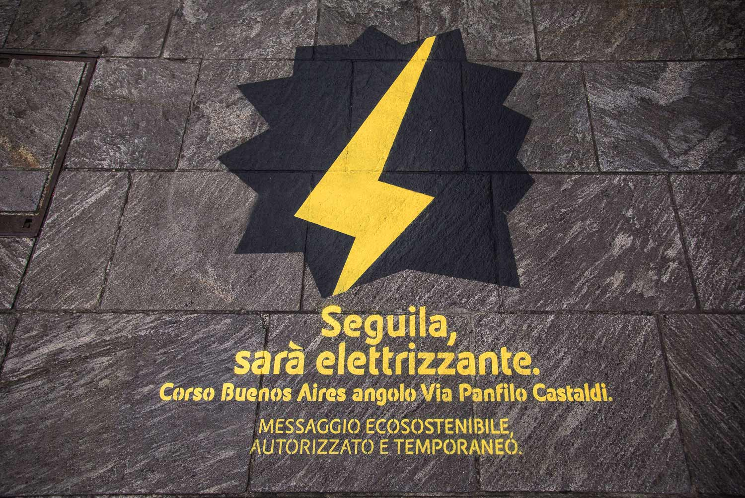 floor advertising eni gas e luce