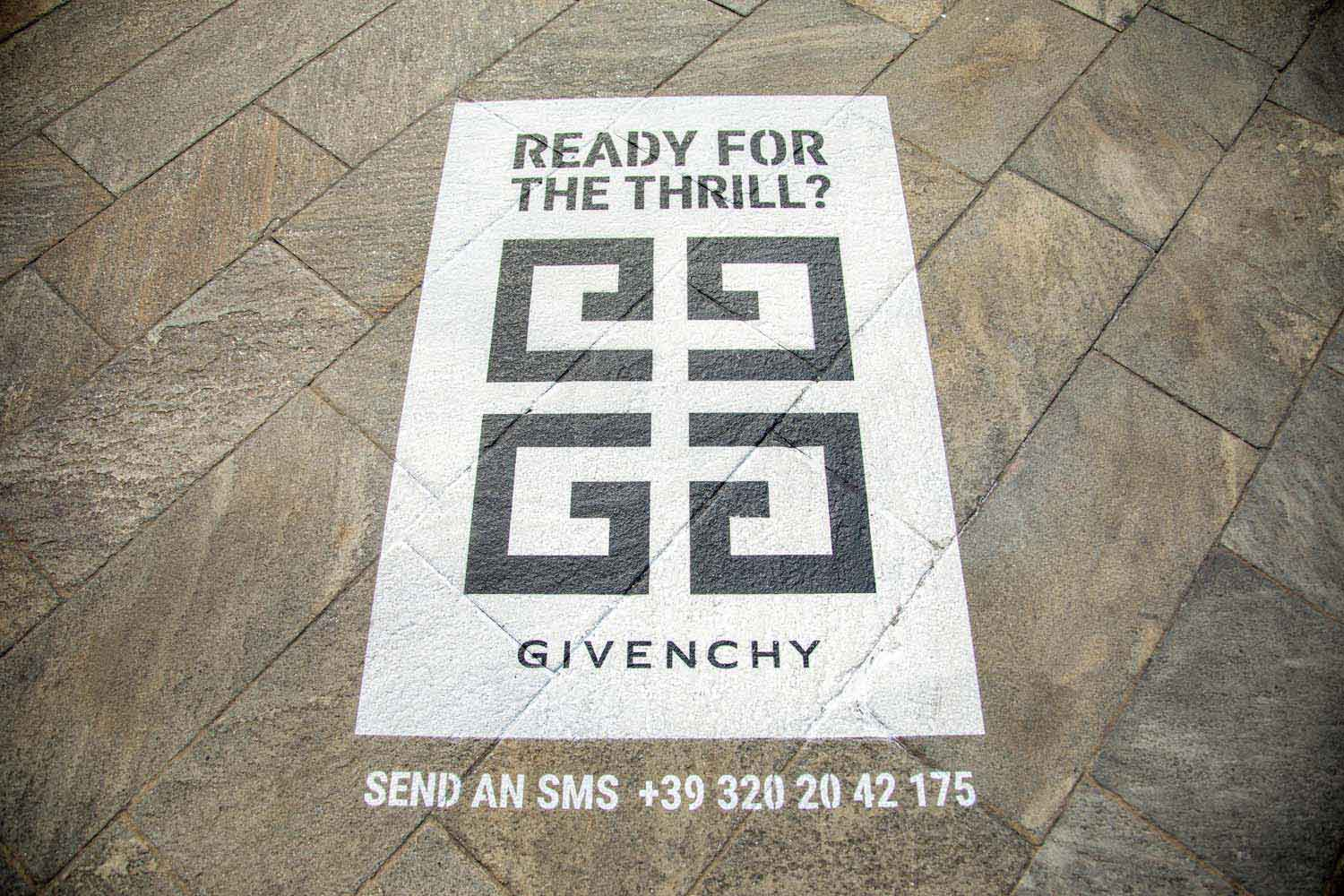 outdoor advertising givenchy interdit