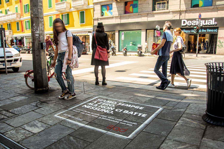 graffiti pubblicitari iliad