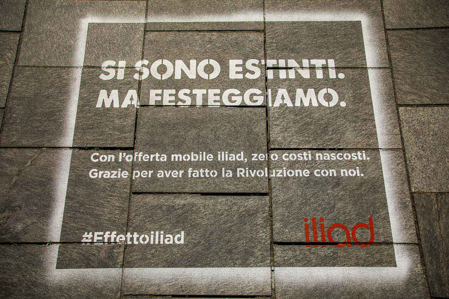 unconventional advertising iliad