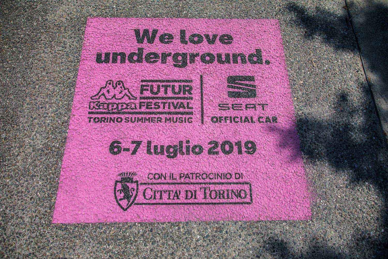 campagna promozionale kappa future festival